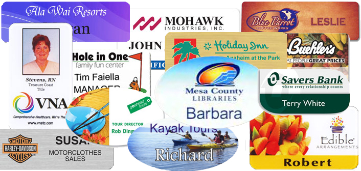 Need Full Color Name Badges? Let EZ Office Products print your full color design name badges and name tags to set you apart at your next event.