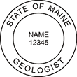 Need a professional geologist stamp in Maine? Create your own custom geologist stamp on the EZ Custom Stamps Store today!