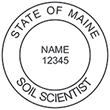 Looking for soil scientist stamps? Check out our Maine soil scientist stamps at the EZ Custom Stamps Store. Available in several mount options.