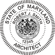 Shopping for Maryland architect stamps? Browse our collection of official Maryland Professional Stamps and Seals here.