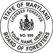 Need a professional forester stamp in Maryland? Create your own custom forester stamp on the EZ Custom Stamps Store today!