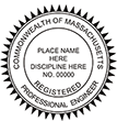 Looking for professional engineer stamps? Our Massachusetts professional engineer stamps are available in several mount options, check them out at the EZ Custom Stamps Store.