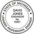 Looking for professional engineer stamps? Our Michigan professional engineer stamps are available in several mount options, check them out at the EZ Custom Stamps Store.