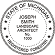Need a professional forester stamp in Michigan? Create your own custom forester stamp on the EZ Custom Stamps Store today!