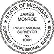 Do you need a custom Michigan surveyor stamp? EZ Office Products offers all the custom stamps you could need or want, such as state surveyor stamps.