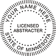 Looking for licensed abstracter notary stamps for Minnesota? Shop the EZ Custom Stamps store today for Minnesota notary stamps.
