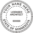 Looking for professional Minnesota Architect Stamps? Buy from our selection of Official State of Minnesota stamps here.