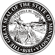 Do you need a custom Minnesota state seal stamp? EZ Office Products offers all the custom stamps you could need or want, such as state seal stamps.