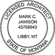 Looking for professional Architect Stamps for Montana? Shop our collection of Official State of Montana Stamps online now.