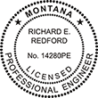Looking for professional engineer stamps? Our Montana professional engineer stamps are available in several mount options, check them out at the EZ Custom Stamps Store.