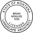 Need a landscape architect stamp? Check out our Montana licensed landscape architect stamp at the EZ Custom Stamps Store. Available in various mount options.