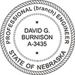 Looking for professional engineer stamps? Our Nebraska professional engineer stamps are available in several mount options, check them out at the EZ Custom Stamps Store.