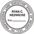 Looking for land surveyor stamps? Shop our Nevada professional land surveyor stamp at the EZ Custom Stamps Store. Available in several mount options.