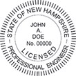 Looking for professional engineer stamps? Our New Hampshire professional engineer stamps are available in several mount options, check them out at the EZ Custom Stamps Store.