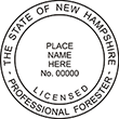 Need a professional forester stamp in New Hampshire? Create your own custom forester stamp on the EZ Custom Stamps Store today!