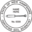 Do you need a custom New Hampshire soil scientist stamp? EZ Office Products offers all the custom stamps you could need or want, such as state soil scientist stamps.
