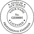 Looking for professional engineer stamps? Our New Jersey professional engineer stamps are available in several mount options, check them out at the EZ Custom Stamps Store.