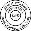 Do you need a custom New Mexico surveyor stamp? EZ Office Products offers all the custom stamps you could need or want, such as state surveyor stamps.