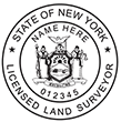 Looking for land surveyor stamps? Shop our New York licensed land surveyor stamp at the EZ Custom Stamps Store. Available in several mount options.