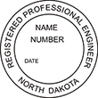 Looking for professional engineer stamps? Our North Dakota professional engineer stamps are available in several mount options, check them out at the EZ Custom Stamps Store.