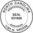 Looking for professional engineer stamps? Our North Carolina professional engineer stamps are available in several mount options, check them out at the EZ Custom Stamps Store.