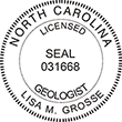 Need a professional geologist stamp in North Carolina? Create your own custom geologist stamp on the EZ Custom Stamps Store today!
