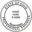 Looking for professional engineer stamps? Our Ohio professional engineer stamps are available in several mount options, check them out at the EZ Custom Stamps Store.