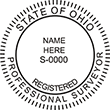 Do you need a custom Ohio surveyor stamp? EZ Office Products offers all the custom stamps you could need or want, such as state surveyor stamps.