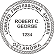 Looking for professional engineer stamps? Our Oklahoma professional engineer stamps are available in several mount options, check them out at the EZ Custom Stamps Store.