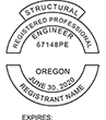 Do you need a custom Oregon structural engineer stamp? EZ Office Products offers all the custom stamps you could need or want, such as state structural engineer stamps.