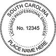 Looking for professional engineer stamps? Our Sourth Carolina professional engineer stamps are available in several mount options, check them out at the EZ Custom Stamps Store.