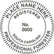 Need a professional forester stamp in South Carolina? Create your own custom forester stamp on the EZ Custom Stamps Store today!