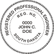 Looking for professional engineer stamps? Our South Dakota professional engineer stamps are available in several mount options, check them out at the EZ Custom Stamps Store.