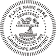 Need a landscape architect stamp? Check out our Tennessee registered landscape architect stamp at the EZ Custom Stamps Store.