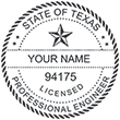 Looking for professional engineer stamps? Our Texas professional engineer stamps are available in several mount options, check them out at the EZ Custom Stamps Store.