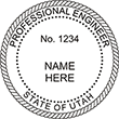 Looking for professional engineer stamps? Our Utah professional engineer stamps are available in several mount options, check them out at the EZ Custom Stamps Store.