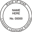 Need a landscape architect stamp? Check out our Utah licensed landscape architect stamp at the EZ Custom Stamps Store.
