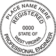 Looking for professional engineer stamps? Our West Virginia professional engineer stamps are available in several mount options, check them out at the EZ Custom Stamps Store.