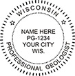 Need a professional geologist stamp in Wisconsin? Create your own custom geologist stamp on the EZ Custom Stamps Store today!