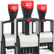 Looking for steel frame stamp daters? Shop the 2000 Plus brand customizable, sel-inking steel frame stamp daters at the EZ Custom Stamps store.