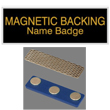 Looking for magnetic name badges? Shop the EZ Custom Stamps store for laser-engraved name badges with a magnetic backing. Design your own or choose from our selection of colors.