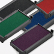 Looking for one-color stamp ink pads? This Trodat replacement ink cartridge pad comes in one-color of your choice and is made for 4850 models.