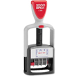 "Cosco 2000 Plus 011033 is a two-color dater makes tracking incoming paperwork easy by stamping the word, PAID, in blue and the date in red. Below the date, the impression also prompts you to write who received the documentation with the word ""BY""."