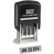 Need self-inking stamp daters? Shop our Cosco 2000 Plus S120 non customizable, micro-line self-inking stamp dater at the EZ Custom Stamps Store.
