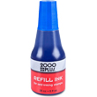 Find blue water-based custom re-fill ink for your Cosco 200 Plus, Ideal, Trodat, or Xstamper ClassiX model. Shop the EZ Custom Stamps store today.