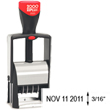 Find a self-inking stamp dater on the EZ Custom Stamps store. This 2000 Plus Classic Line 2020 is a heavy duty stamper with 1 ink color and 12 years of use.