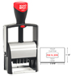 Looking for a self-inking stamp dater for the office? This rectangular 2000 Plus Classic Line 2660 dater comes in 2 ink colors and includes up to 6 lines of customization.