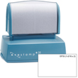 At EZ Custom Stamps you can make your own pre-inked custom address stamp with the Evostamp EP35. Shop now or call (608) 310-4300 for more information.