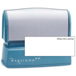Need a pre-inked stamper? Shop the Evostamp EP-40, a rectangular pre-inked stamp that allows for up to 5 customizable lines of text.
