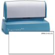 Looking for a pre-inked stamper? The Evostamp EP-60 allows for 8 lines of customization perfect for a professional return address.